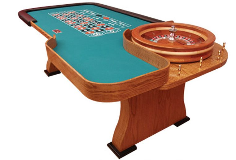 Fresno Casino Equipment - Roulette Table