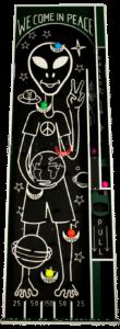 Alien Pinball - Front copy